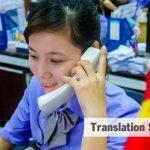 english translation to vietnamese