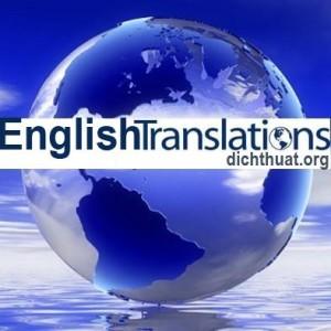 Dịch thuật công chứng tiếng Anh nhanh TRONG NGÀY